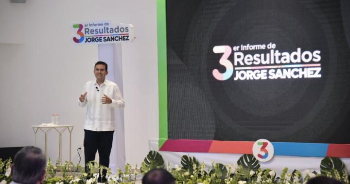 Avanzamos en la transformación de Zihuatanejo: Jorge Sánchez, en Tercer Informe de Gobierno