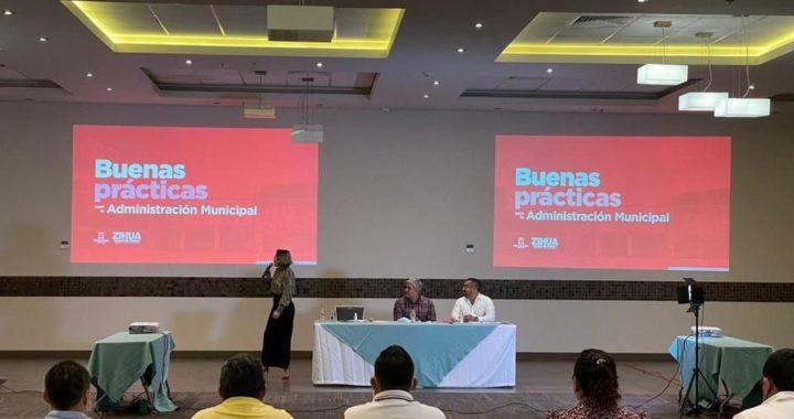 Gobierno de Zihuatanejo imparte taller a alcaldes electos