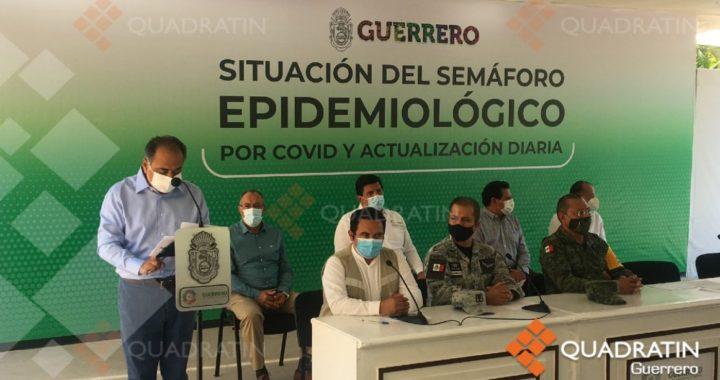 MANTIENE GUERRERO SEMÁFORO VERDE CON SOLO UN PUNTO DE RIESGO EPIDÉMICO EN LA EVALUACIÓN DE SALUD FEDERAL