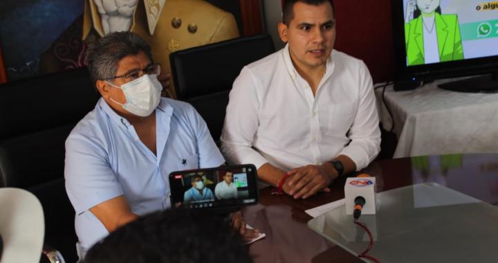 Presentan autoridades del municipio de Tecpan línea telefónica para atención ciudadana