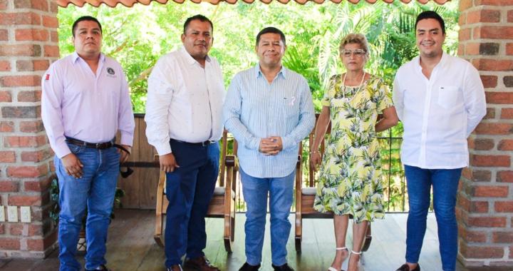 Promueve Javier Aguilar una Agencia de Ministerio Público en Petatlán