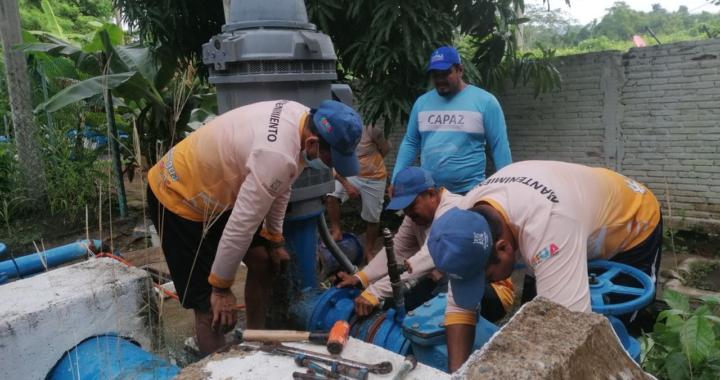 CAPAZ mejora la capacidad de bombeo de agua para Zihua